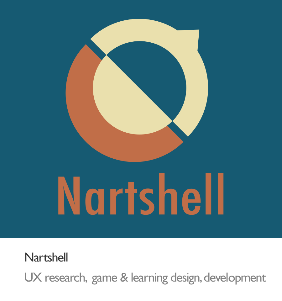 logo of nartshell, an art education game